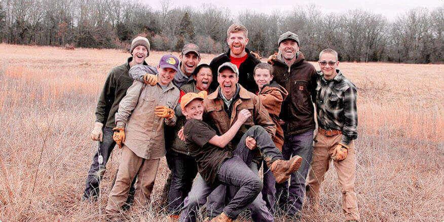 Boys at Whetstone Boys Ranch